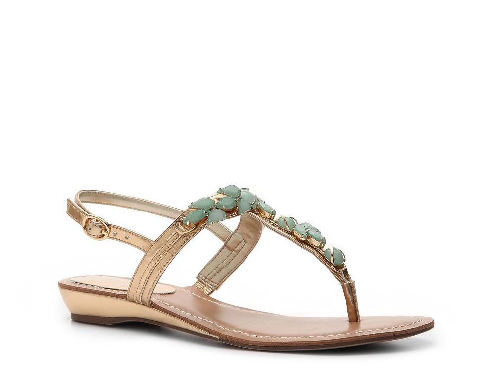 c9038d9b647 Unisa Lady Beaded Flat Sandal Women s Dress Sandals Sandals Women s Shoes -  DSW