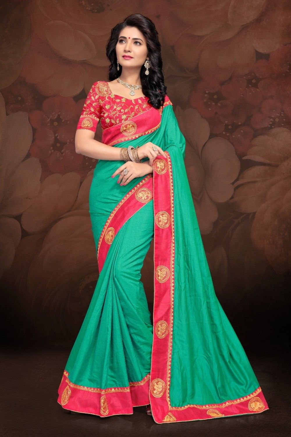 0d5998e433 RIGHT ONE PRESENT SWARNAMALA SANA SILK SAREE WITH HEAVY BLOUSE COLLECTION