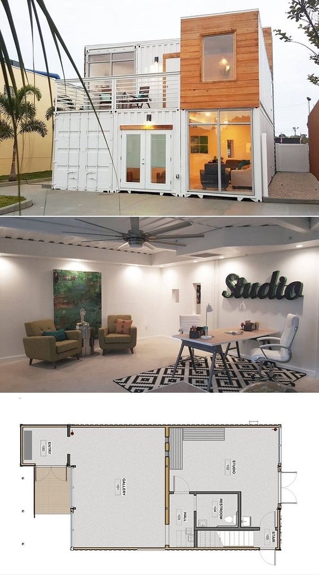 Container house container house nice 87 shipping - Simple container house plans ...
