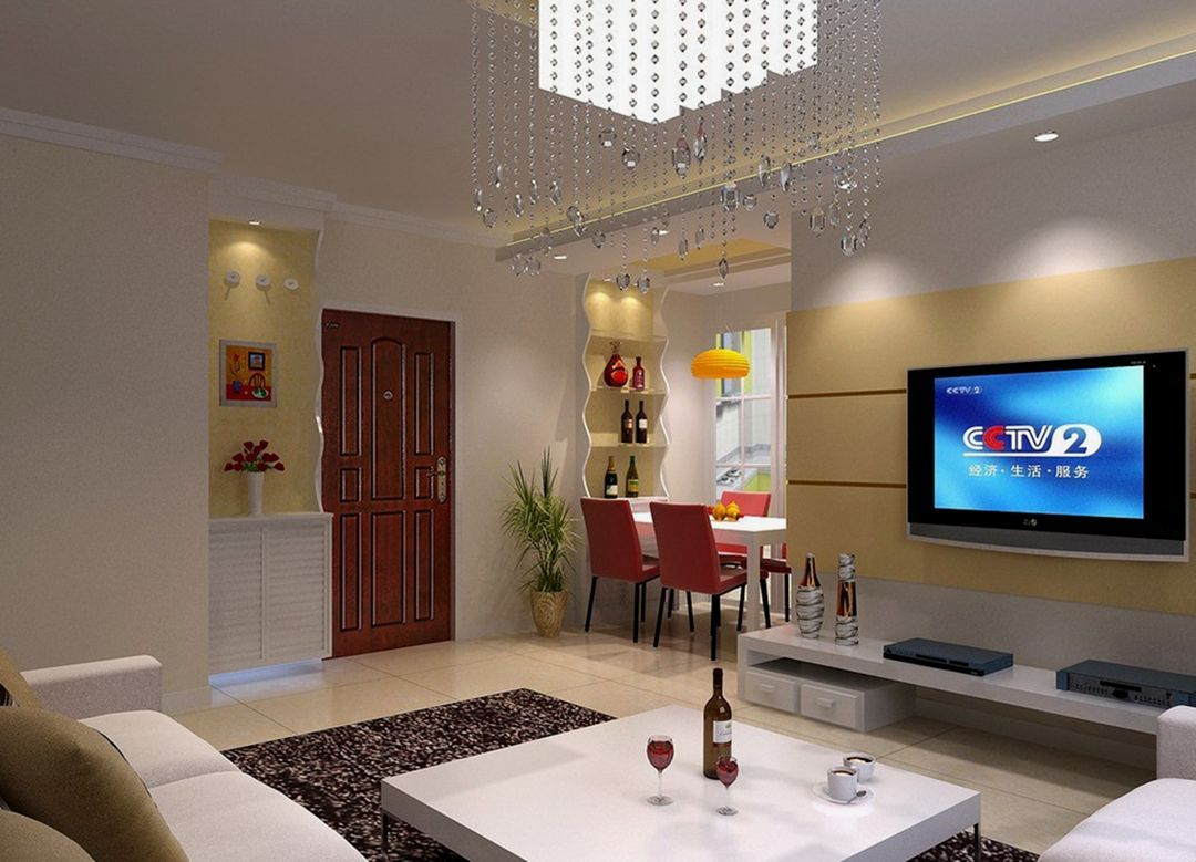 Awesome 20 Marvelous Simple Living Room Interior Design