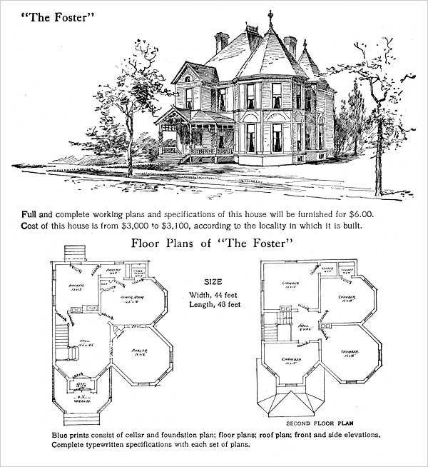 1905 Spindled Queen Anne Foster Plan By Hodgson How To Plan Sims House Design Sims House Plans