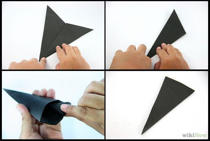 How To Make A Paper Kunai Knife 16 Steps