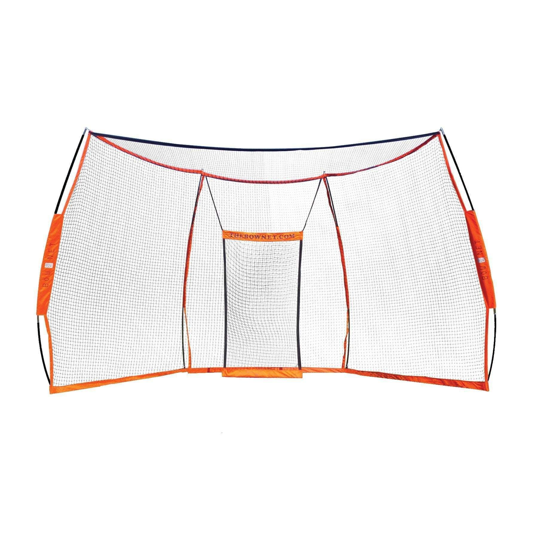 Bownet Multi Sports Portable Backstop Bow Backstop Sports Safety Wiffle Ball Sports