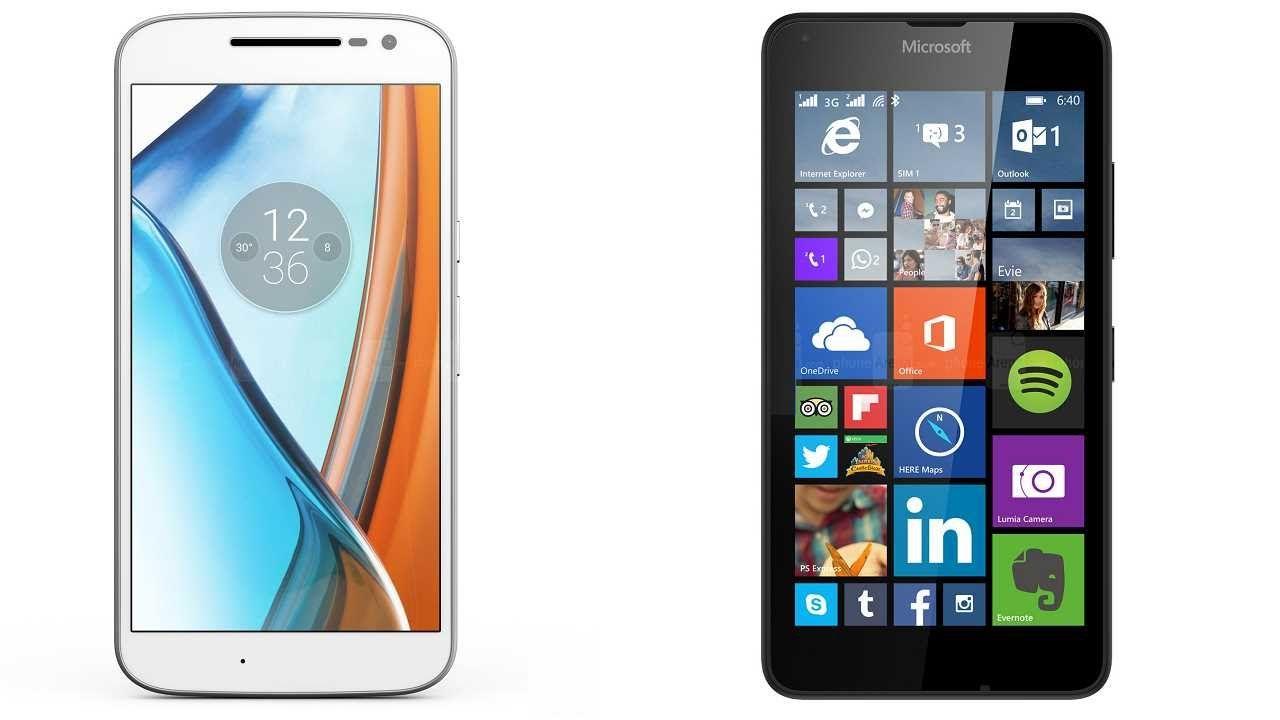 Motorola Moto G4 vs Microsoft Lumia 640 XL Subscribe! http://youtube.com/TechSpaceReview More http://TechSpaceReview.tumblr.com