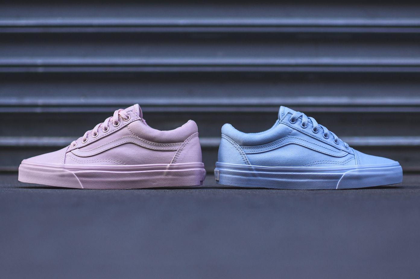 Vans' Old Skool Gets Dipped in Pink and Blue | Vans old