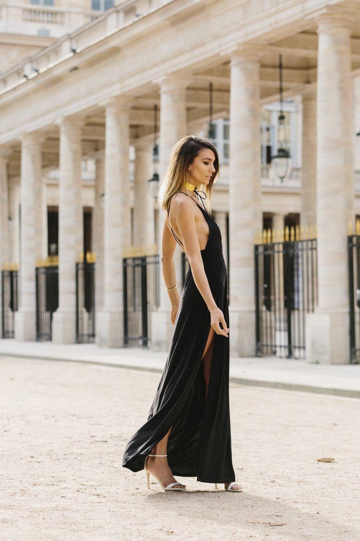 Elise Gabriel elise gabriel from accidentally jetset in palais royal garden, paris