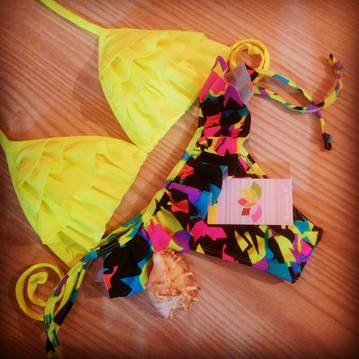 bikini amarelo panicats