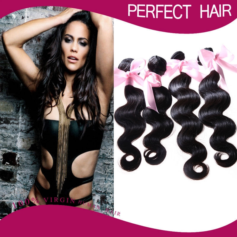107.04$  Know more - http://aicwa.worlditems.win/all/product.php?id=32352537787 - 6A Unprocessed Peruvian Virgin Hair Peruvian Body Wave 100% Peruvian Hair Bundles Weave 3pcs Lot Free Shipping