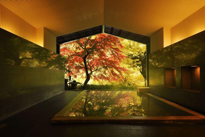 芸術の秋は 温泉旅館に泊まって美術館を巡る 箱根のアート旅 へ 温泉 箱根 絶景 温泉