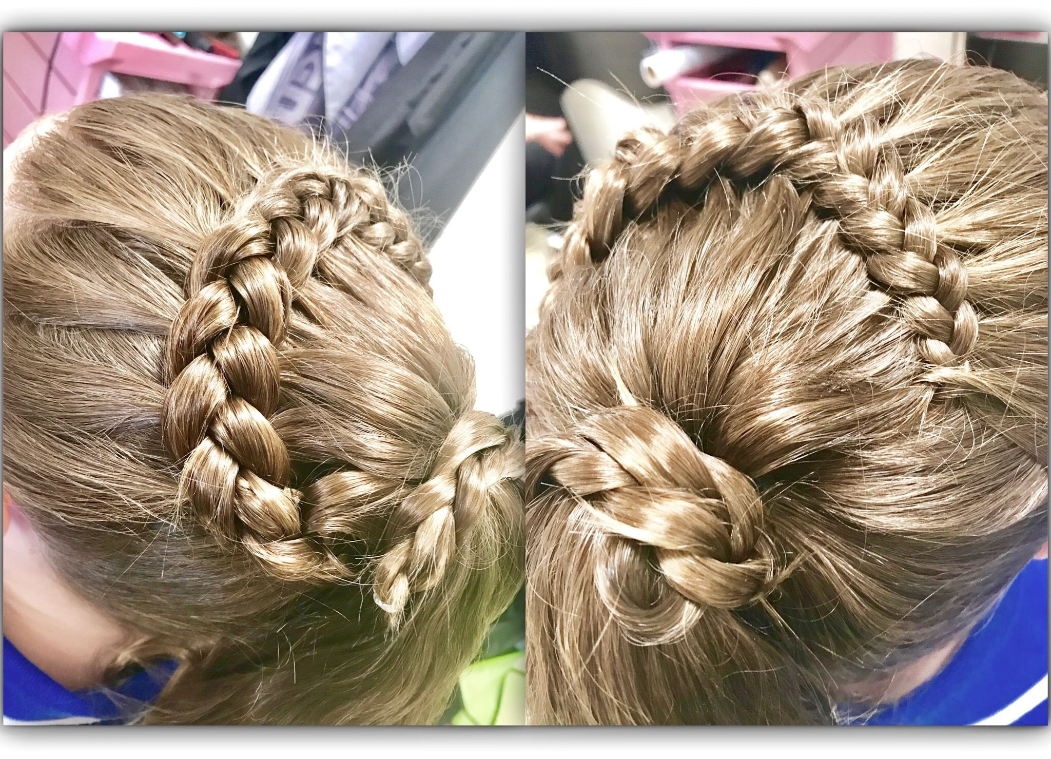 Braided half up with ponytail beautiful hair pinterest ponytail