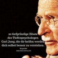 20 tiefgründige Zitate des Tiefenpsychologen Carl Jung, die dir helfen werden dich selbst besser zu verstehen. – Der Poet
