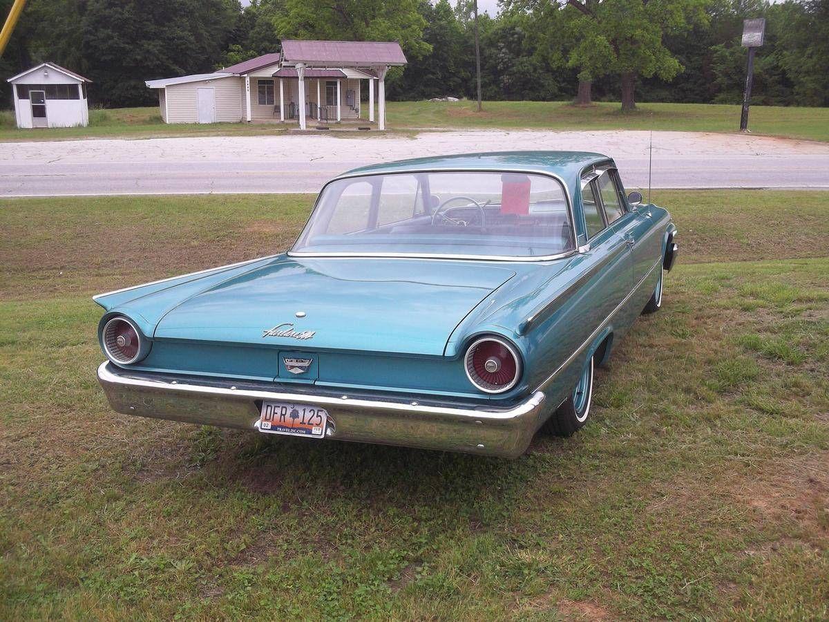 1961 Ford Fairlane 500 Tudor   Automobile - FORD   Pinterest   Ford ...