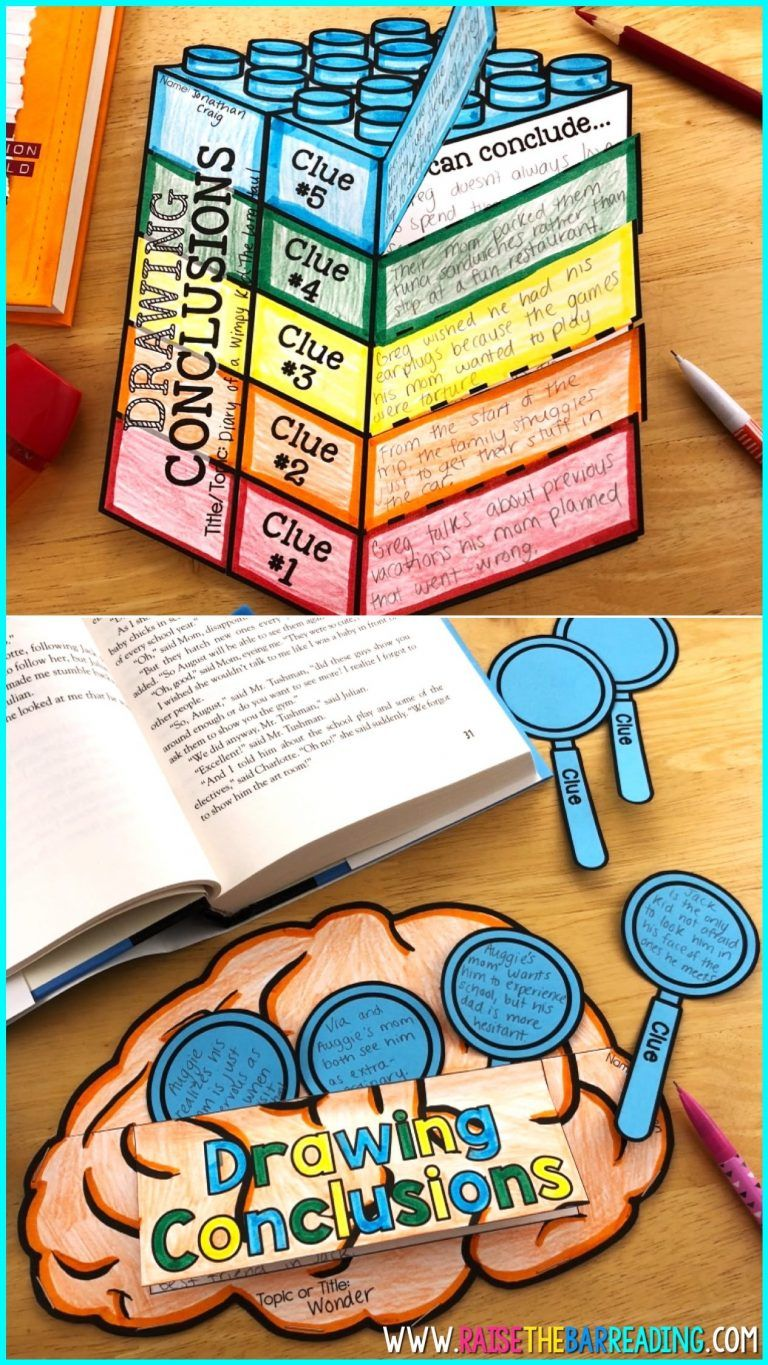 Reading Comprehension Strategies Crafts Hands On Activities For Teaching R Drawing Conclusions Activity Reading Comprehension Reading Comprehension Strategies [ 1365 x 768 Pixel ]