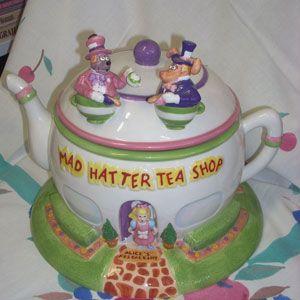 Mad Hatter cookie jar