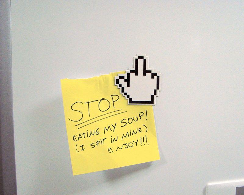 Kühlschrank Pixel Hand Magnete - MEGA-merchandise - Onlineshop für Ausgefallenes