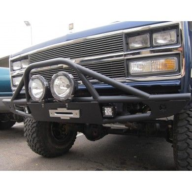 Front Winch Bumper Fits Chevy Gmc K5 Blazer Trucks 1973 1991 Winch Bumpers K5 Blazer Truck Bumpers