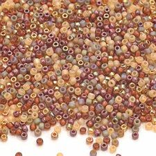 Earthtones Mix Glass Seed Beads 10g 11/0 MIX26