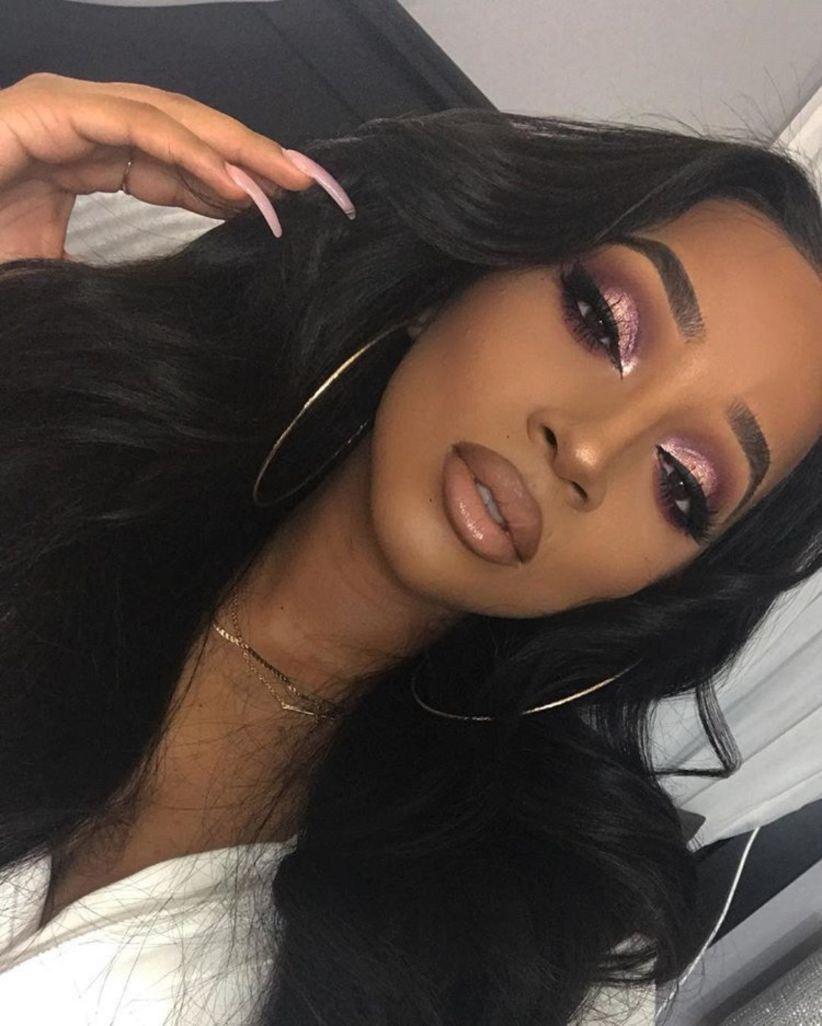 41 Amazing Makeup Ideas Suitable for Blacks   Dark skin ...