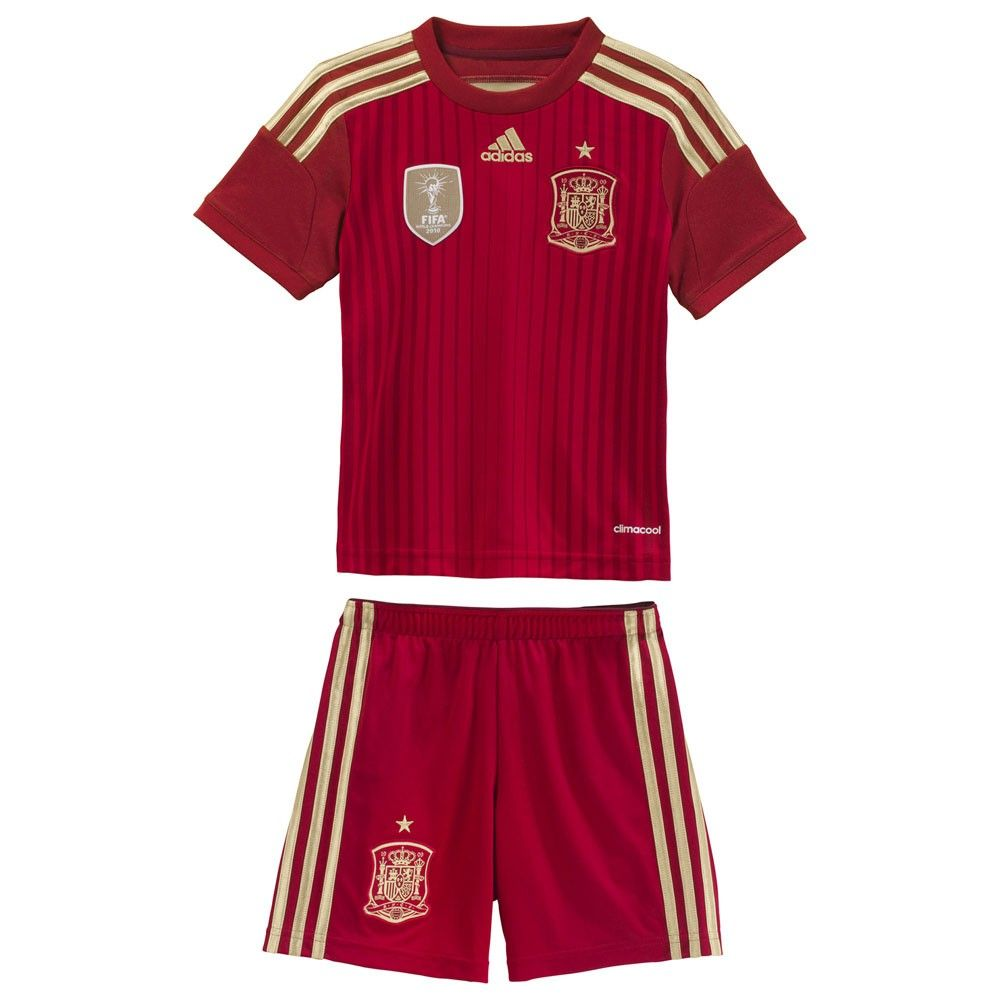 61d337a23bee5 Mini Kit oficial de España para niño del Mundial de Brasil