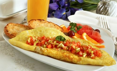 Think salsa is just for tortilla chips--well think again! Start off your day with a wholesome breakfast with a Salsa and Cheese Omelet.