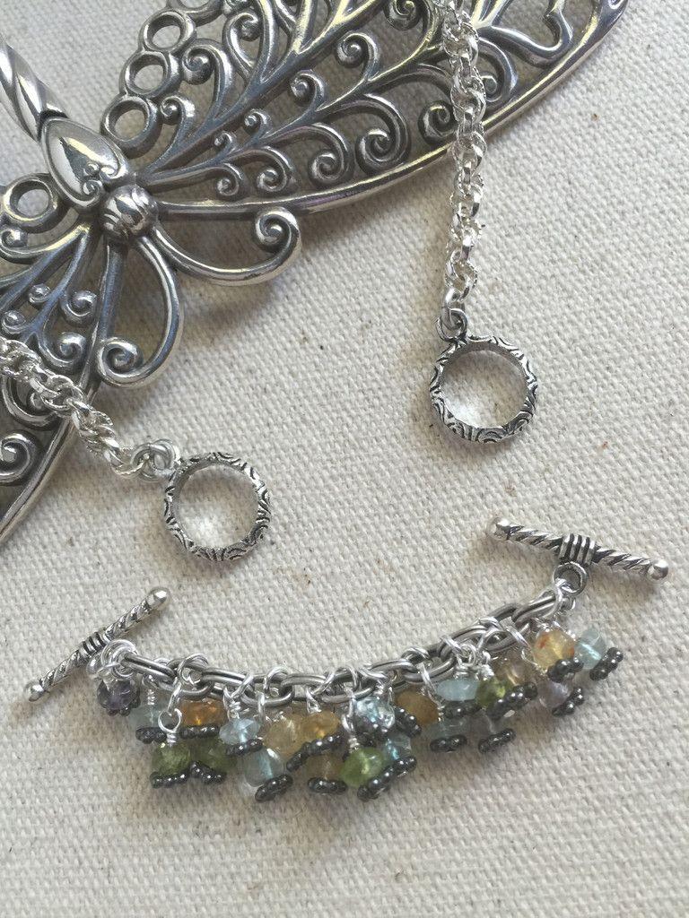 Multi color gemstone interchangeable beaded necklace h105 jewelry handmade interchangeable pendant bead necklaces bead dangle design aloadofball Choice Image