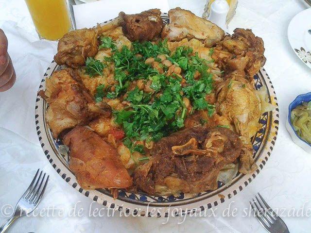 Chakhchoukha de m 39 sila recette cuisine alg rienne for Notre cuisine algerienne