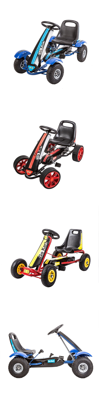 Complete Go-Karts and Frames 64656: Kids Pedal Go Kart Ride On Toy ...