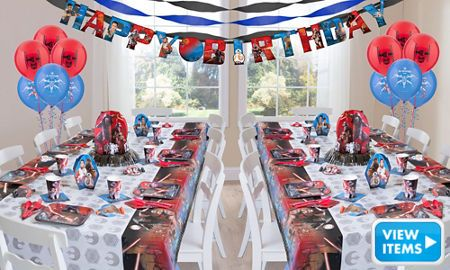 Star Wars Party Supplies Star Wars Birthday Ideas Party City