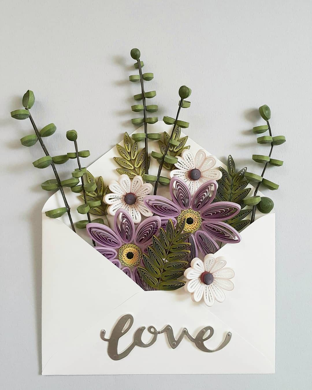 Quilling Quilling Plants And Flowers Nature Pinterest