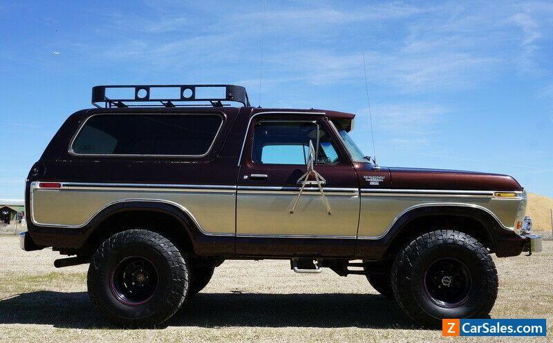 1979 Ford Bronco Ranger Xlt Ford Bronco Forsale Canada