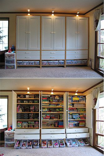Playroom Cabinets Tunhem From Ikea The Perfect S Flickr