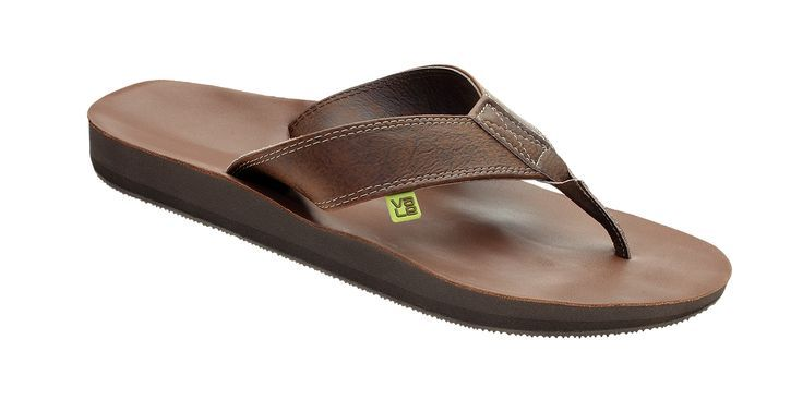 get cheap a9529 4fde1 myVALE Flip Flop Toe Sandals Men - Model Tara Leather men ...