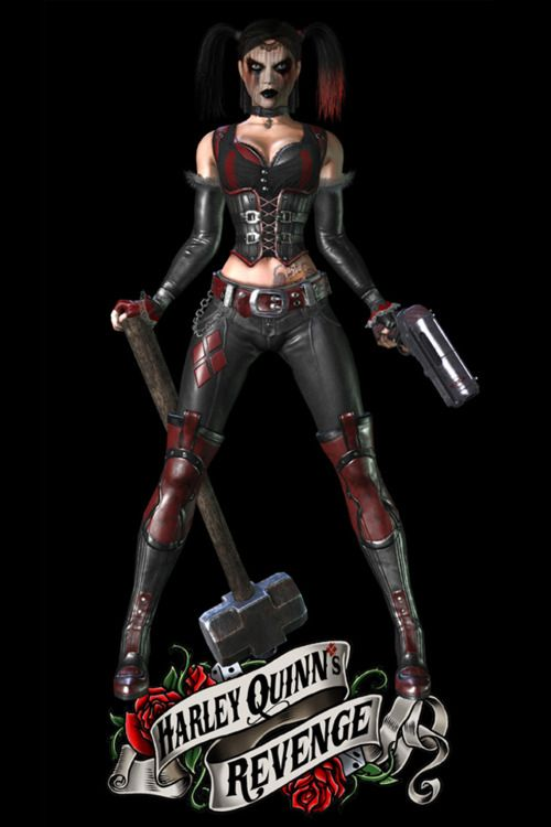 But at some point during all the maniacal laughing, cop killing, and caking on the mascarazy, she found the clarity of thought to place exactly 30 harley balloon collectibles for batman and robin to find.