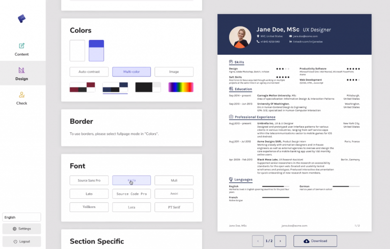 Make Resume Online With These Best Free Websites In