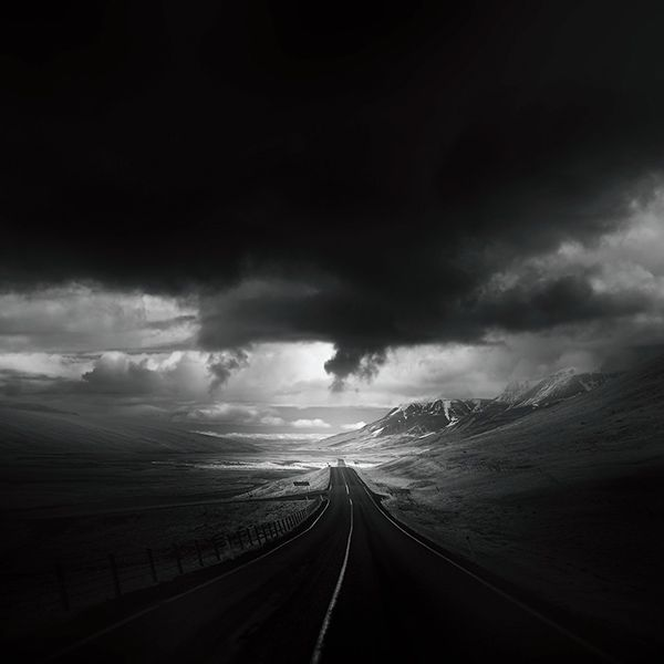 "travelingcolors: ""Icelandic Roads (by Andy Lee) """