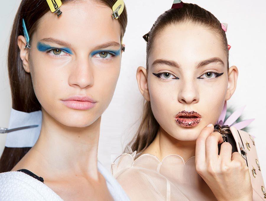 Spring/ Summer 2017 Makeup Trends   Makeup trends, Makeup and Hair ...