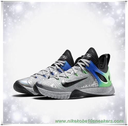 chaussures basketball Nike Zoom Hyperrev 2015 AS Multicolore-color Vert  Poison-Noir