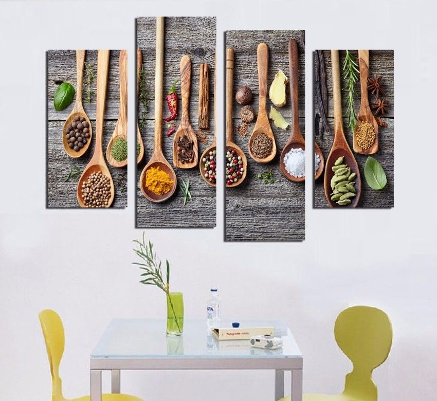 Details About [Unframed] Kitchen Cooking Spice Wall Art