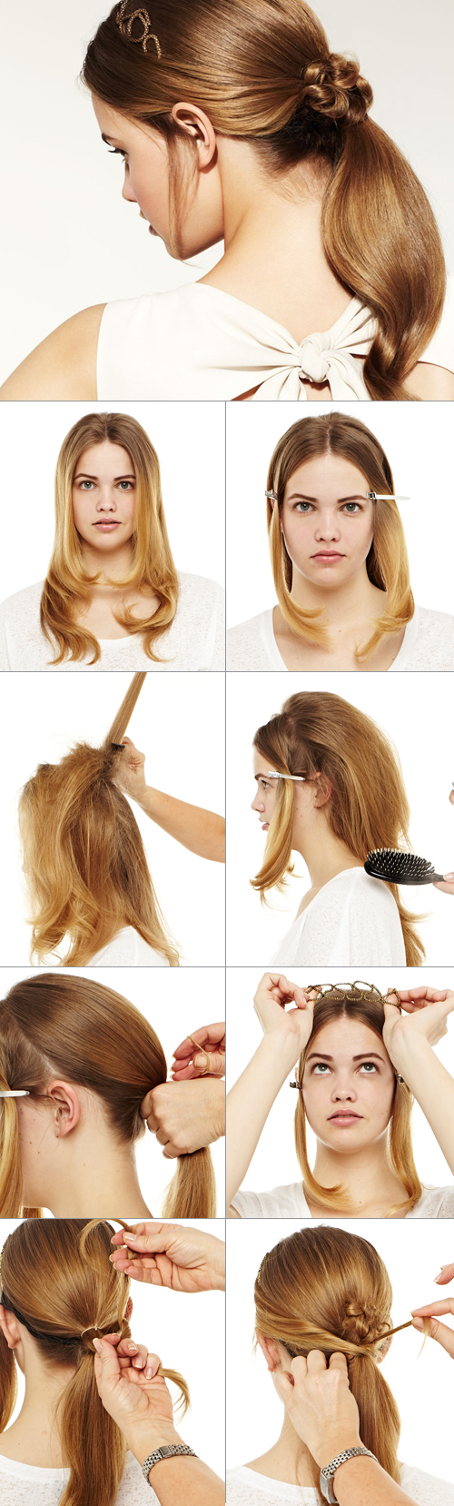 Brilliant Modern Ponytail Have Fun With Our Step By Step Tutorial Nivea Hairstyle Inspiration Daily Dogsangcom