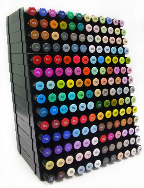 Spectrum Noir Storage Spectrum Noir Marker Storage Box Of 14 Trays Tips En Trucs Kleurkaarten Tips