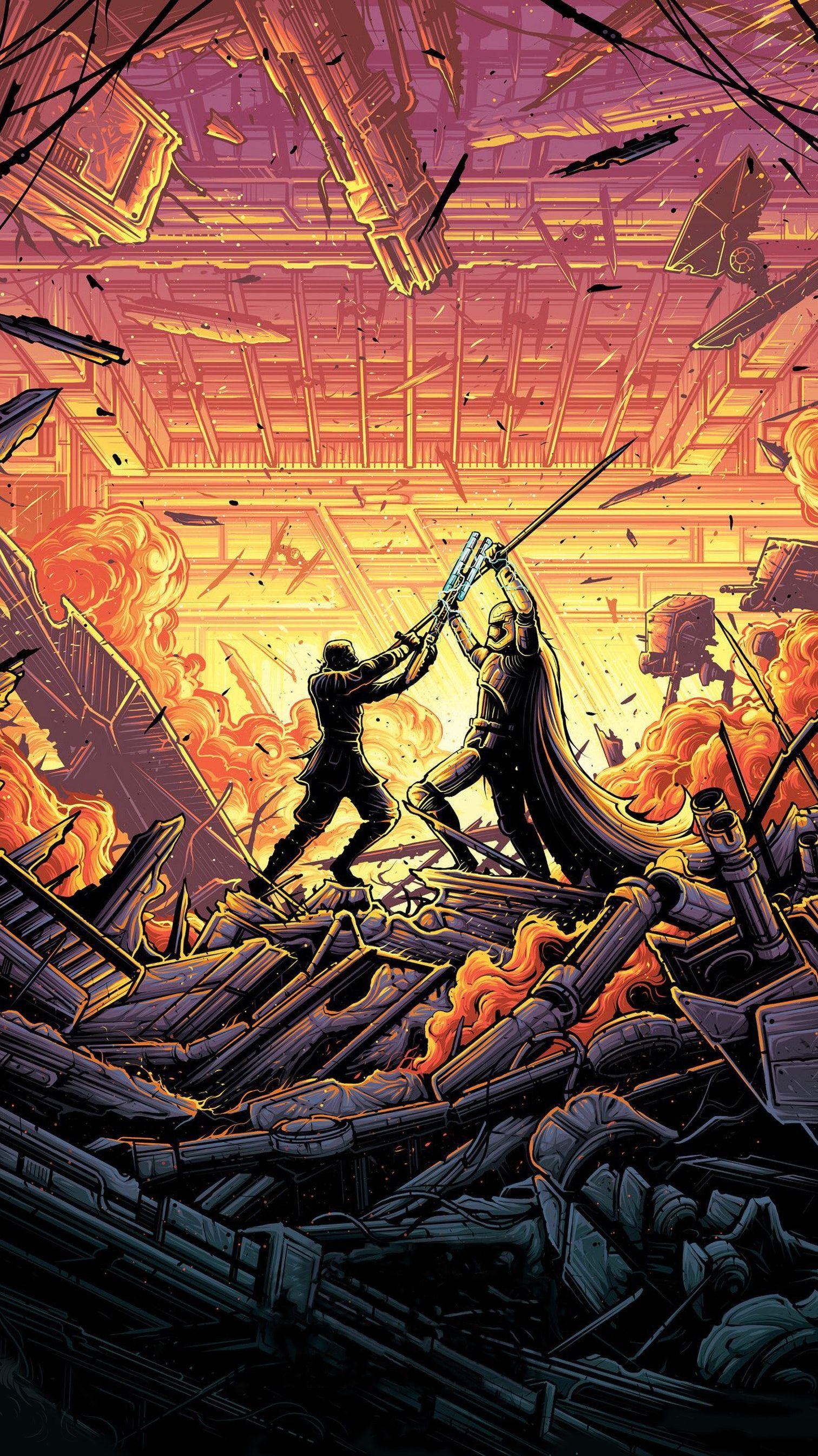 Star Wars The Last Jedi 2017 Phone Wallpaper Moviemania Star Wars Art Star Wars Artwork Star Wars Wallpaper