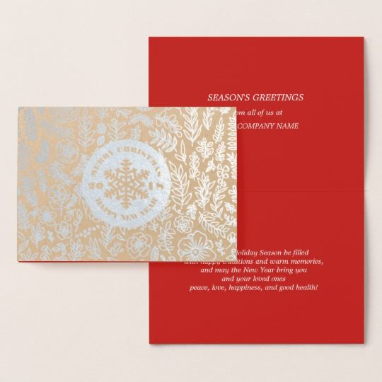Seasons greetings custom corporate cards merry christmas and a seasons greetings custom corporate cards merry christmas and a happy new year 2018 real m4hsunfo