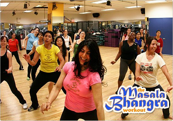 Sarina's Masala Bhangra workout classes are so much fun!