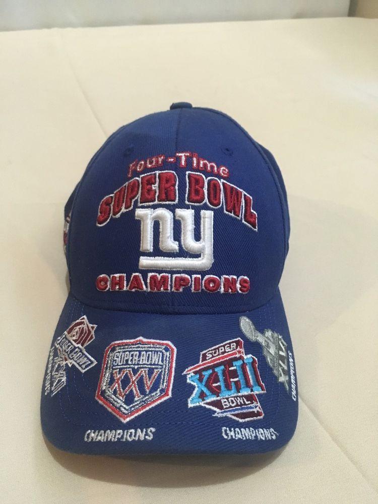 ede4c35125e118 NY Giants Four-Time Super Bowl Champions #Reebok #NewYorkGiants ...