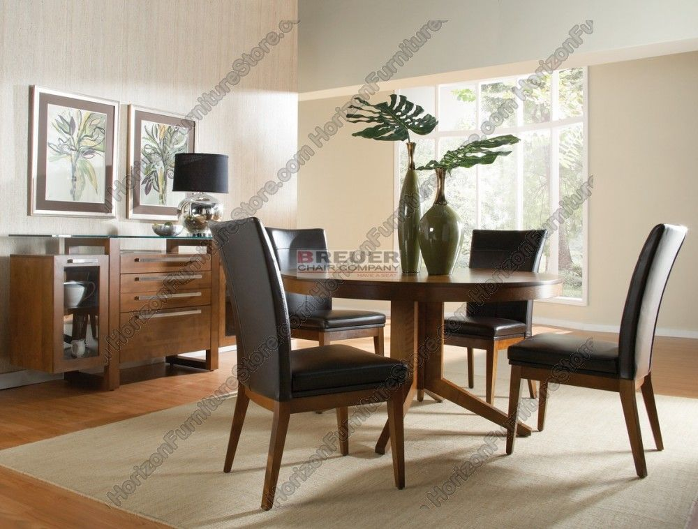 Superbe Canadel High Style Dining Set   TRN 5454 / CHA 5014 /