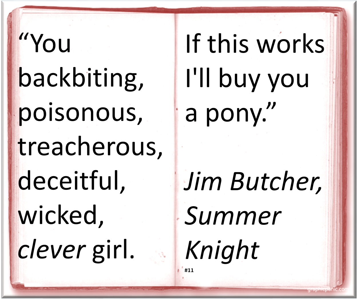 Jim Butcher ™� ~ Quote #author #humor
