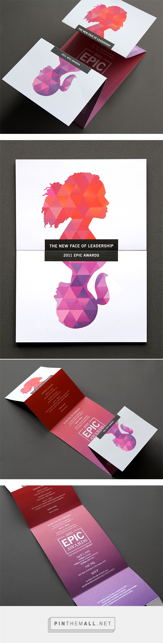 Print • 2011 EPIC Awards   Papeterie   Pinterest   Flyer und Mappen