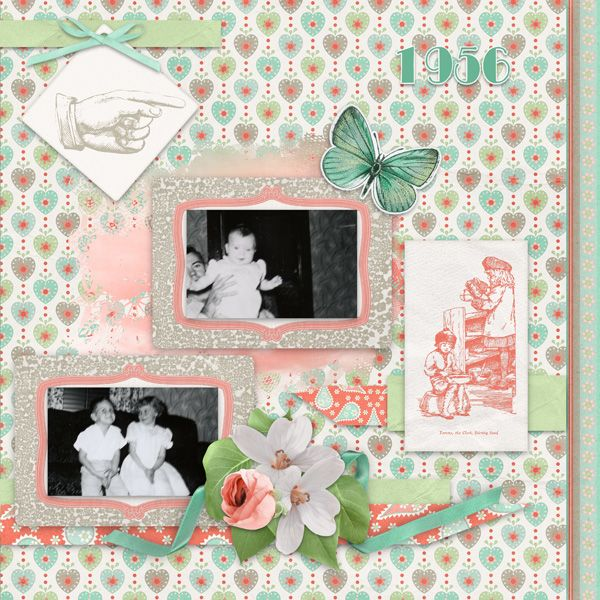 Set The Mood For Everything: Digital Scrapbooking Kit Up Up And Away