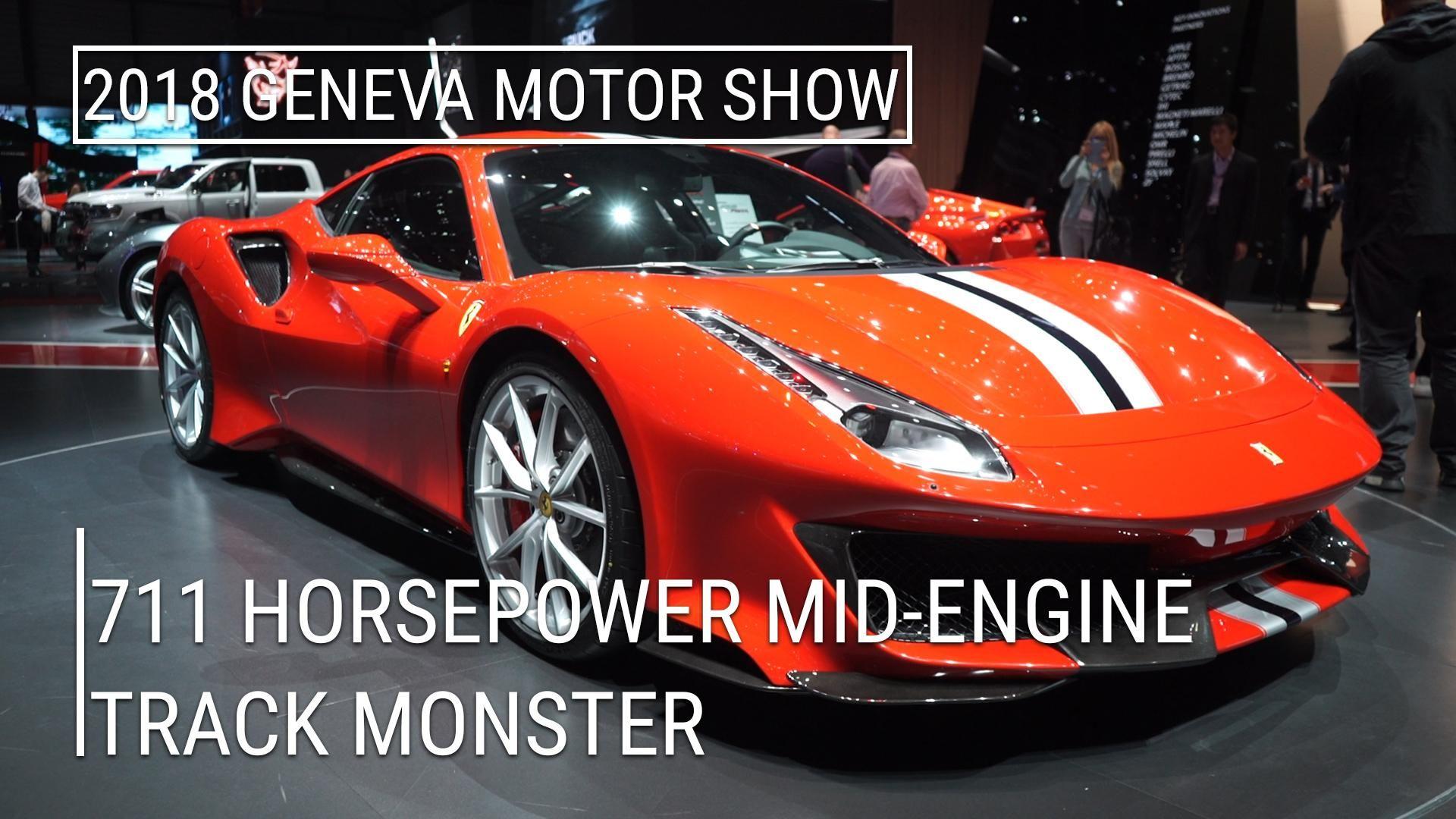 Ferrari To Introduce A V8 Hybrid Supercar This 12 Months Geneva Motor Show Ferrari Super Cars