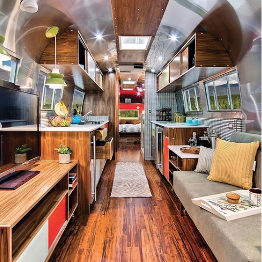 This Rare Airstream Trailer Was Transformed Into the Cutest Tiny Home -  Timeless Travel Trailers W